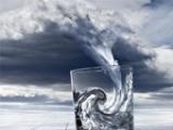 Une tempête dans un verre d'eau…